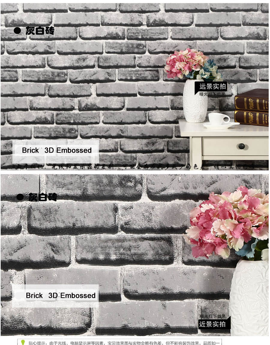 ShineHome-Modern Postoral Vintage Check Brick 3d Wallpaper for Walls In Roll Mural Rolls Wall-Papers 3d on a Wall papier peint shinehome abstract brick black white polygons background wallpapers rolls 3 d wallpaper for livingroom walls 3d room paper roll