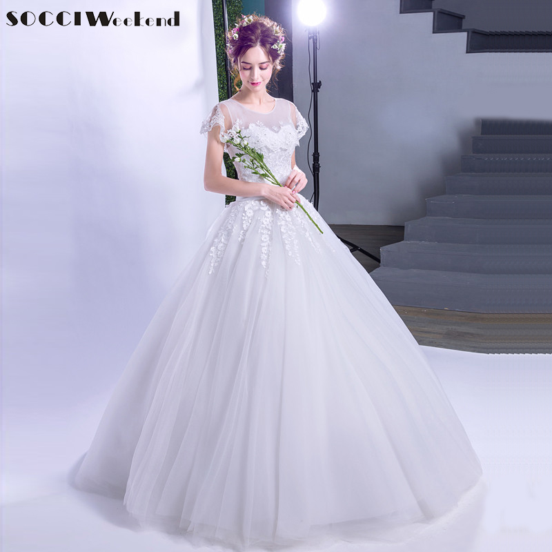 Wedding Gown Wraps: SOCCI 2017 Embroidery Shawl Princess Wedding Dresses