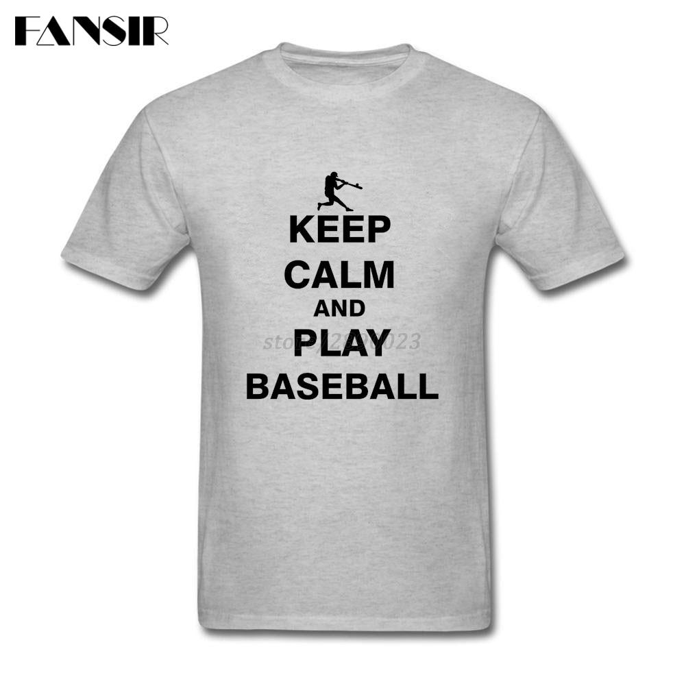 Design t shirt keep calm - Men Tshirts New Design Short Sleeve Crewneck Cotton T Shirt Men Man S Keep Calm And Play