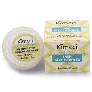 Image 5 - Kimcci Профессиональный Безопасный инструмент для удаления клея для ресниц 5 мл, крем для наращивания ресниц, высококачественный ароматизатор для удаления запаха