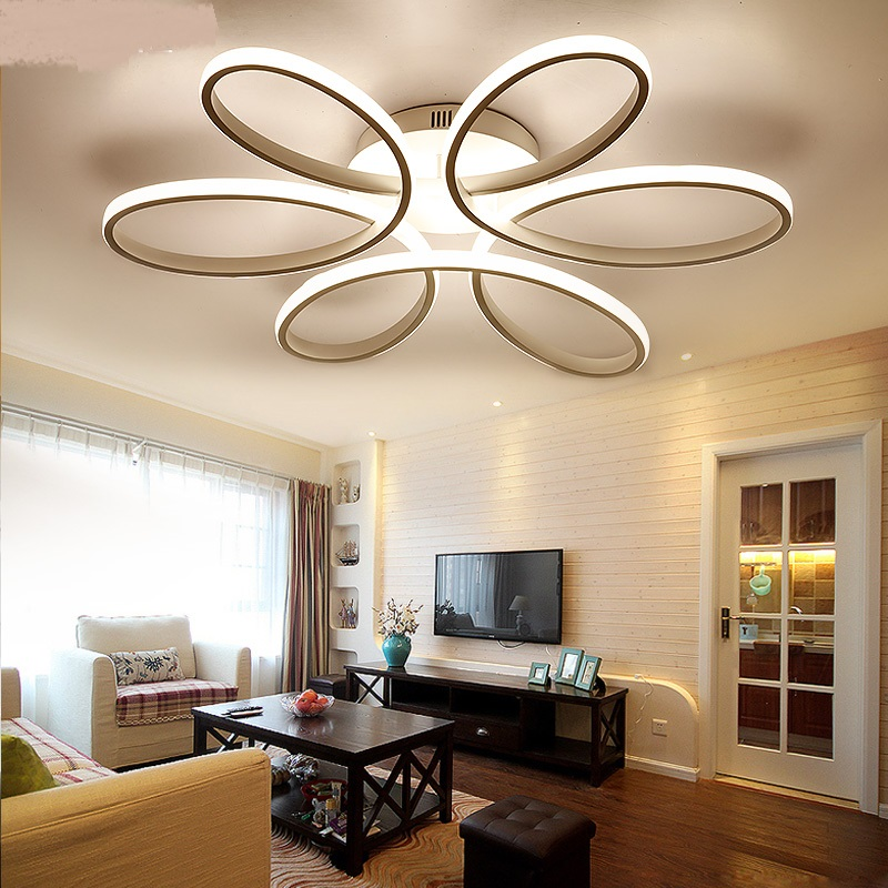 Master led ceiling lamp bedroom lamp warm and romantic ...