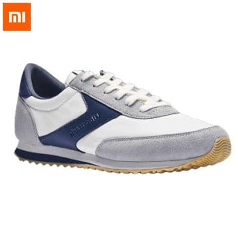 Original Xiaomi Uleemark Retro Lightweight Casual Shoes Non-slip Wear-resistant Sport Sneakers Soft Breathable Smart Sport Shoes