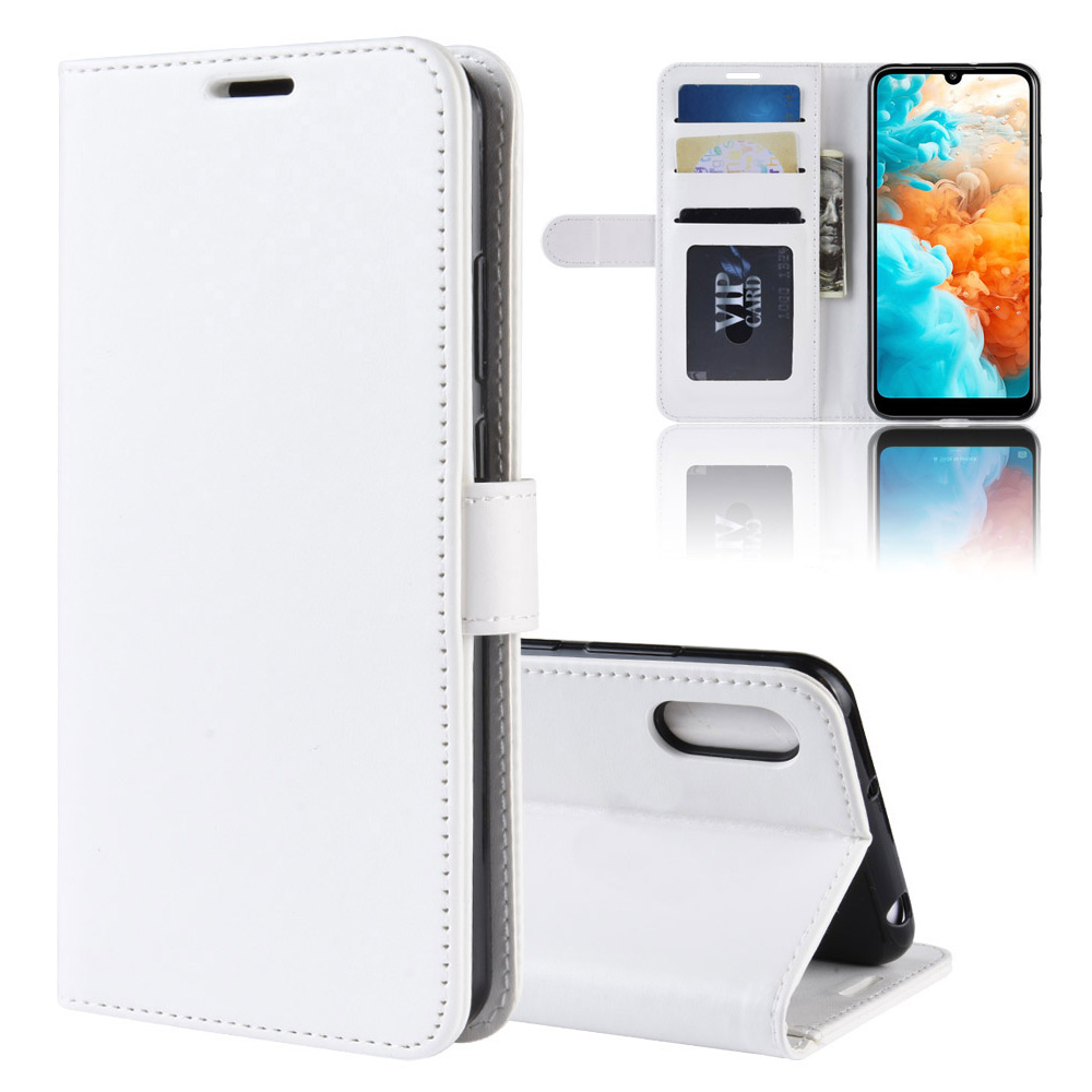 KOC3572W_1_Wallet Leather Case with Card Slots and Stand for Cubot X19