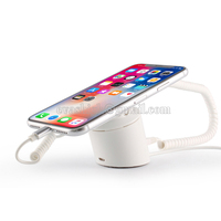 New Mobile Phone Security Display Stand Wireless Alarm Holder Chargeable Cellphone Retail Anti Theft Device Iphone