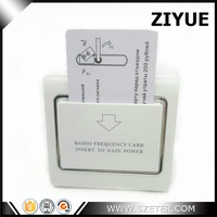Energy Saving Power Card Switch Delay Time Switch MF Card Hotel Switch