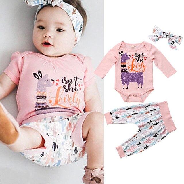 Aliexpress Com Buy Newborn Baby Girls Clothes Geometry Pants Bow