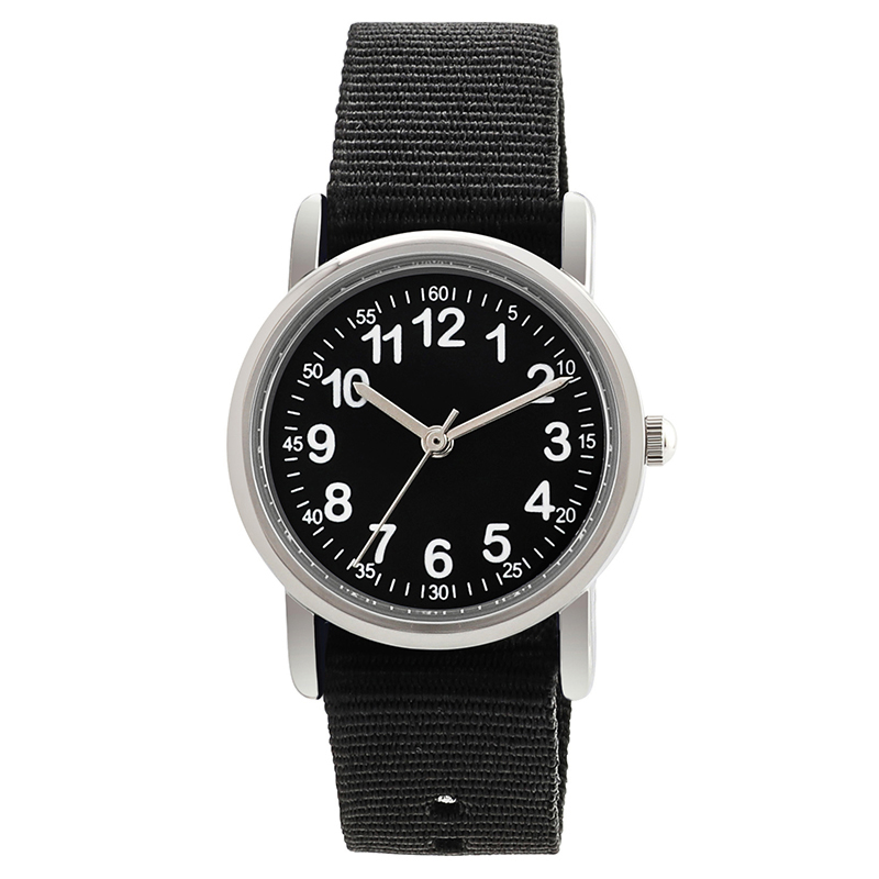 Watches Kid Nylon Straps Wristwatch Children Quartz Watch Cute Clock Kids Watches Child Watch For Students