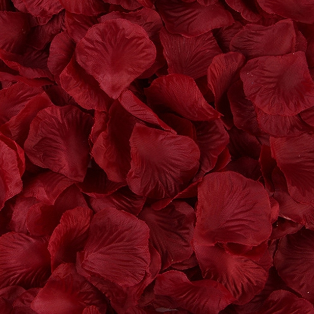 2000 Pcs Colorful Artificial Rose Petals Wedding Petalas Colorful Silk Flower Accessories Wedding Rose 3