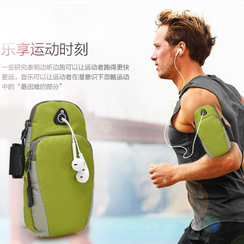 18*9*5cm Sports Running Bags Jogging Gym Armband Arm Band Holder Bag For Mobile Phones New Arrival