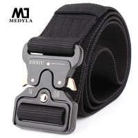 MEDYLA Men Army Tactical Nylon Belts Special Forces SWAT Military Equipment Army Belt US Soldier Combat