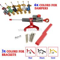 Steering Damper Bracket Mounting Kit For Honda CB1000R CB 1000R 2008 2015 2009 2010 2011 2012