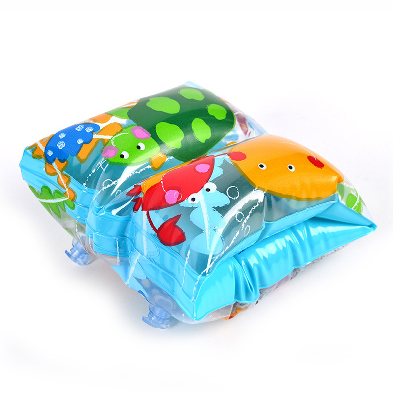 High Quality Baby Arm Swimming Ring Child Inflatable Float Safe Thick Floating Sleeve Inflatable Arm Ring For Children Swimming