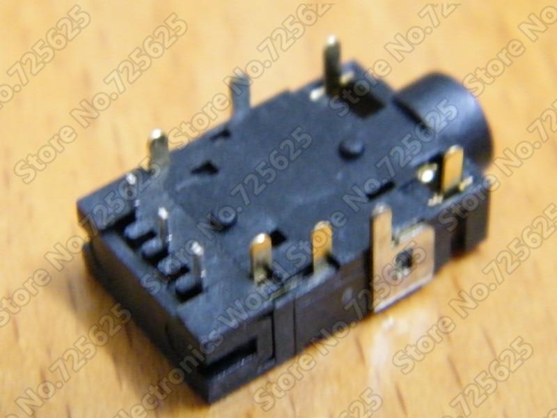 Envío gratis 2 piezas de portátil, conector de audio / conector - Cables de computadora y conectores - foto 4