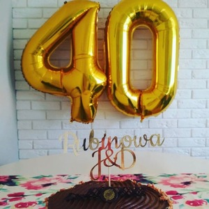 Image 4 - 2pcs 30/40 אינץ עלה זהב מספר רדיד הליום בלוני Congratulate18 20 25 30 50 שנים למבוגרים מסיבת יום הולדת עיצוב הבית