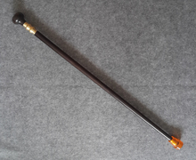 Crafts Arts 90CM long Grandpa Good Lucky CHINESE CANE WOOD CIVILIZATION CANE WALKING STICK CRUTCH COLLECTIBLE OLD