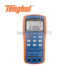 TH2822D Portable RLC Meter Small LCR Meter 100Hz, 120Hz,1kHz,10kHz with DCR Function
