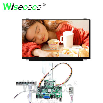 15 6 inch led lcd screen for dell precision 7510 7520 3510 0r52wf wuxga fhd 1920 1080 ips display non touch Wisecoco 15.6 inch LCD IPS 1920*1080 FHD antiglare display with VGA  HDMI drive rboard for pc laptop notebook display