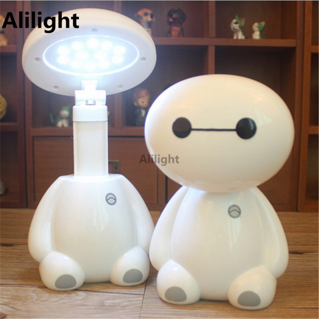 Aliexpress.com : Buy Led Night Lamp Baymax Novelty Rechargeable ...