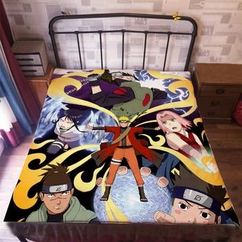 Anime Manga Naruto Bed Sheet 150*200cm Bedsheet 006