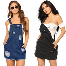 2019 New Fashion hot selling women clothing Women Jeans Pants hollow out Siamese Pants Short Romper