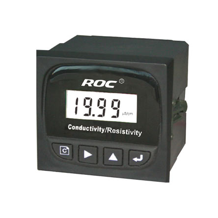 BRAND ROC Industrial Online Conductivity TDS Temperature Transmitter Controller DC 24V AC 110V 220V 4~20mA output SPDT relay цена и фото