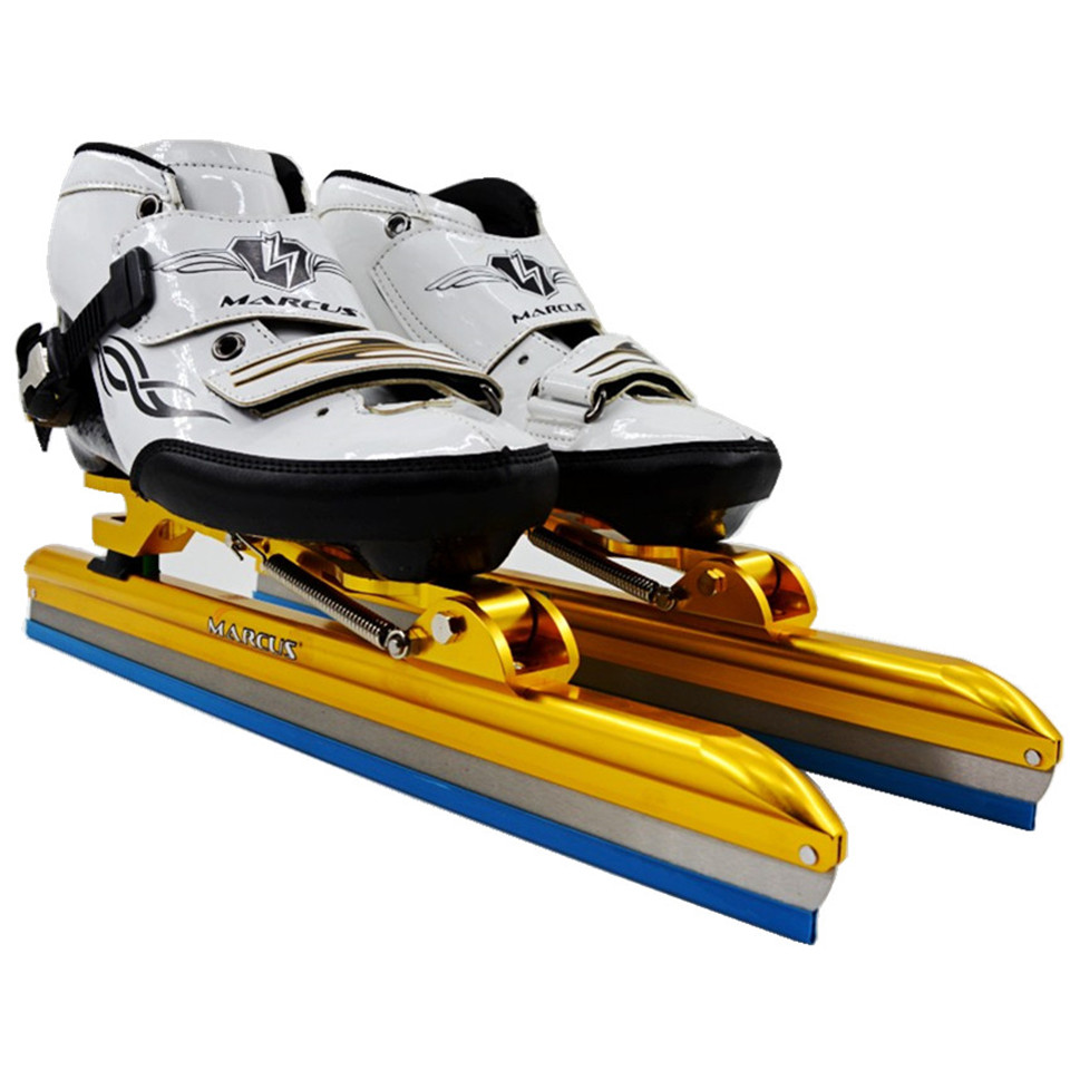 Japy Carbon / Fiberglass Speed Ice Blade Skating Shoes Metal Fix Location Knife Racing Skates Comfortable Patines Sneakers I001