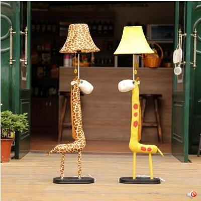 lampadaire girafe