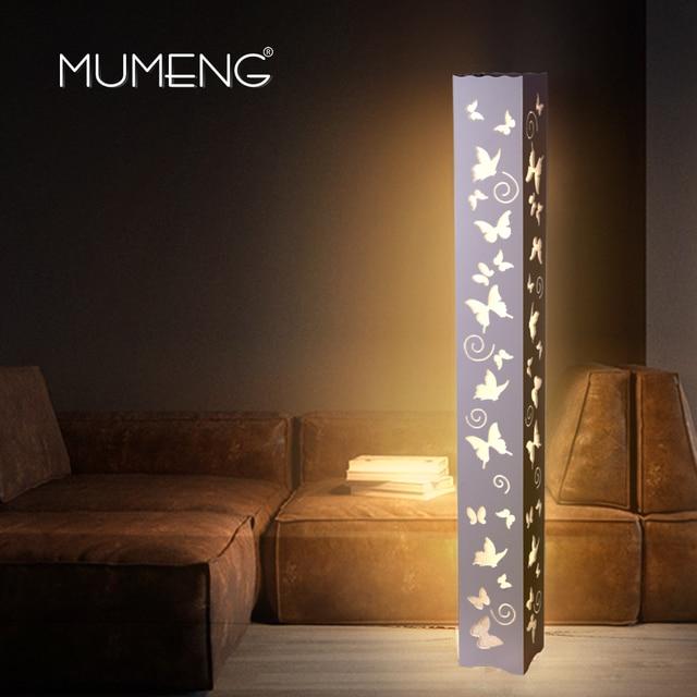 MUMENG Minimalis Moderni LED Lampada Da Terra Modello di Farfalla ...