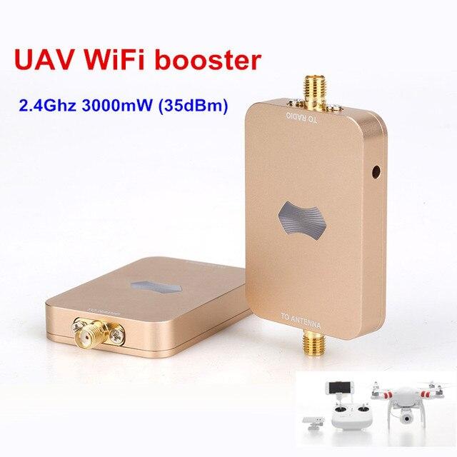 SUNHANS eSunRC 3000mW UAV WiFi Signal Booster 2.4Ghz 35dBm WiFi Signal Amplifier Free shipping