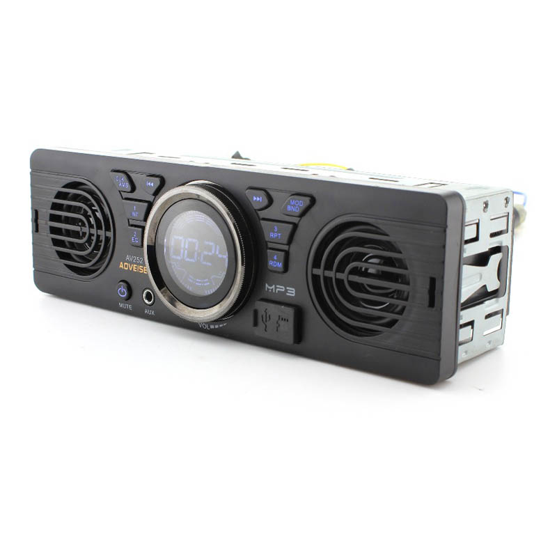 Auto 1 Din Car Radio MP3 Player Built in 2 Speaker Support USB SD AUX Bluetooth FM Radio Receiver 12V Auto Audio Player Display