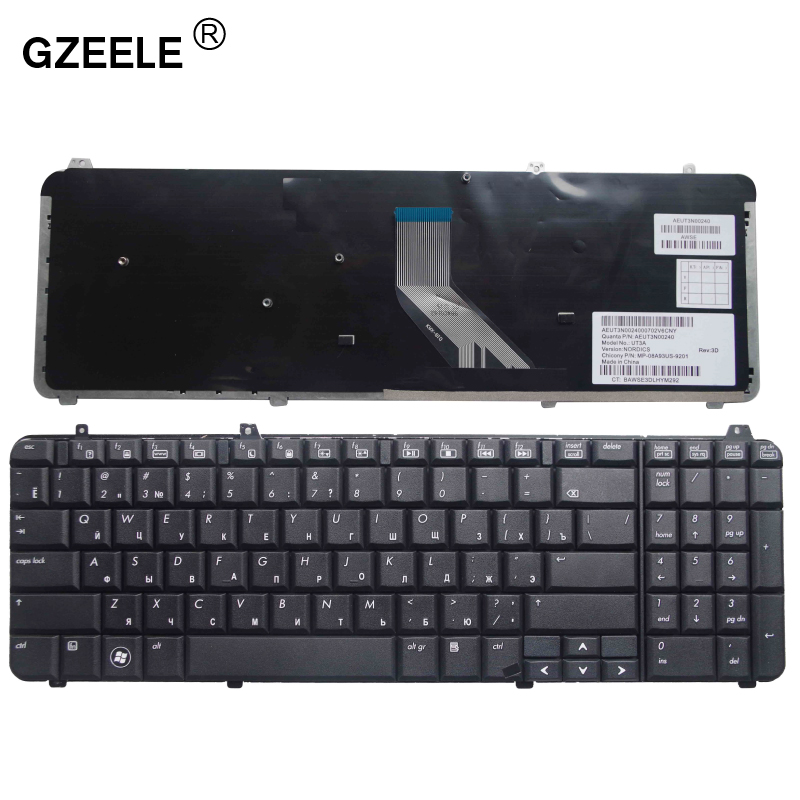 Gzeele Russische Laptop Toetsenbord Voor Hp DV6-1000 Dv6-1122TX DV6 1300 DV6-1053TU 1330TX 518966-251 534606-251 Dv6-2000 Dv6-2100 ru