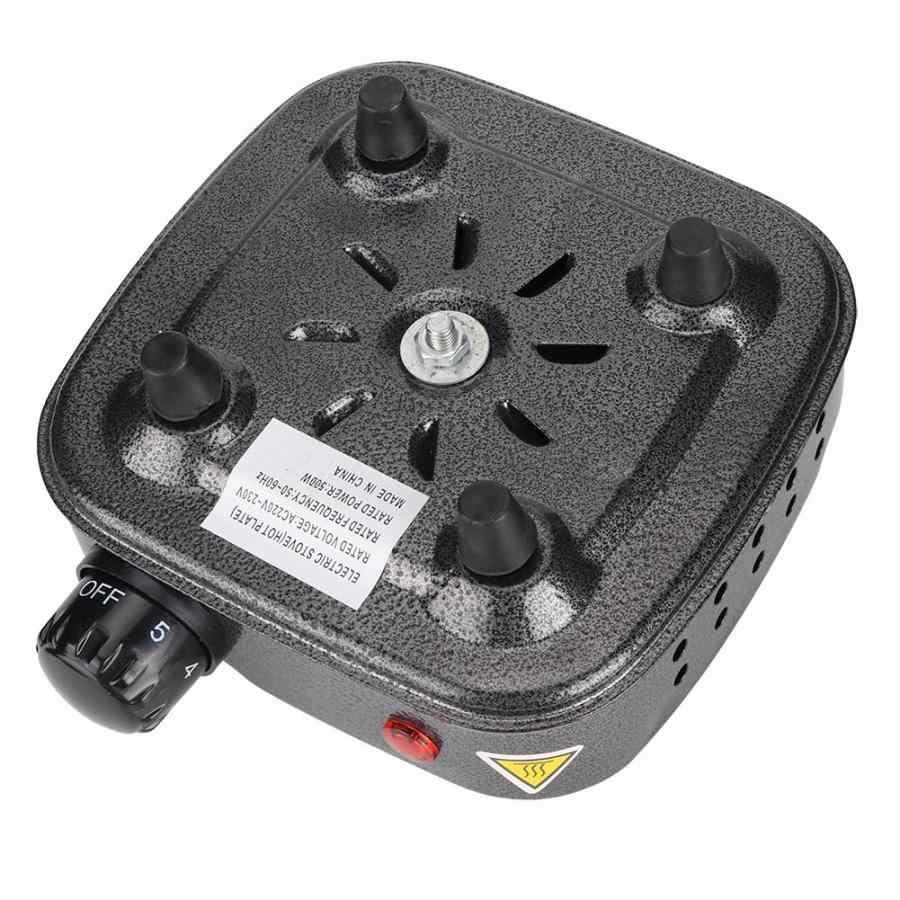 El más nuevo horno eléctrico multifunción de la placa de calefacción del horno eléctrico gris plateado 220-230V enchufe de la UE