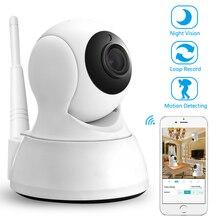 Беспроводной IP камера охранных двухстороннее аудио видеоняни и радионяни HD 720 P 1MP ночное видение Wi-Fi камера видеонаблюдения