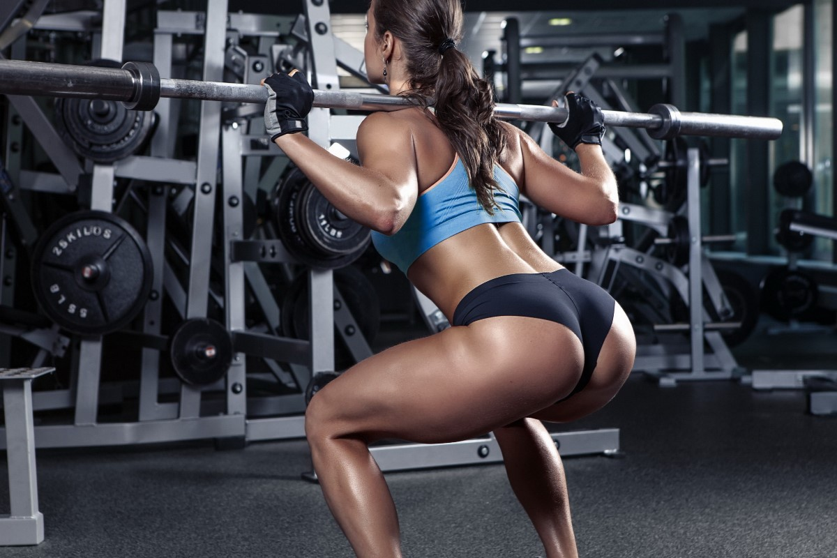 Legs workout gym female girl fitness yr room home wall