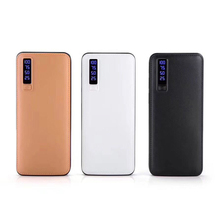 Leather Power Bank 20000mAh Mobile Charger Supply Power Bank Smart Phone Universal Charger for iPhone 6 Huawei xiaomi