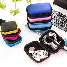 NEW High-quality In Ear Earphone Box Headphones Portable Storage Case Bag Headphone Accessories Headset Storage Bag
