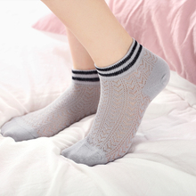 5 Pairs Of Socks Ladies New Fashion Simple Solid Color Elastic Mouth Breathable Comfort Cotton Casual Short