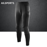 New High Quality Thick Sponge Soccer Goalkeeper Pants Men S Padded Guard Football Goalie Pants Kits