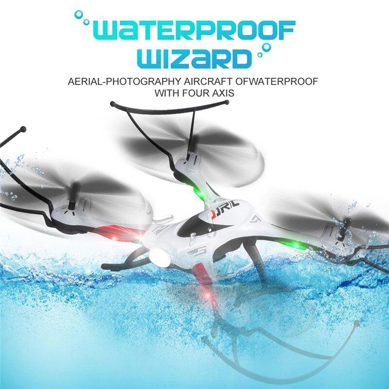 Nova JJRC H31 À Prova D' Água Resistência À Queda Headless Modo One chave de Retorno 2.4G 4CH 6 Eixo RC Quadcopter Helicopter RTF Alguns Combos