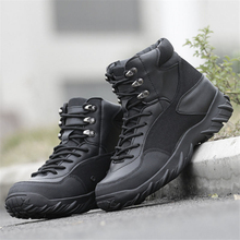 Winter Men Brand military tactical Delta Army Combat Boots outdoor travel Non-slip wear  shoes men's fall boots leather boots