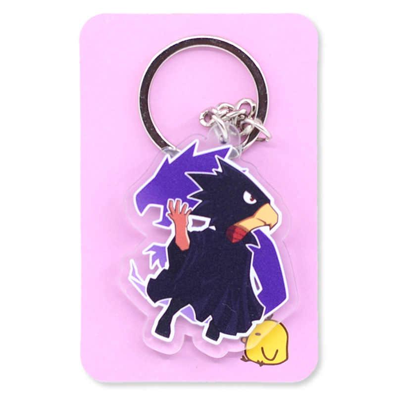 My Hero Academy двухсторонний прозрачный брелок Boku no Hero Academy Горячая цепочка ключей распродажа аниме брелок PCB194-213