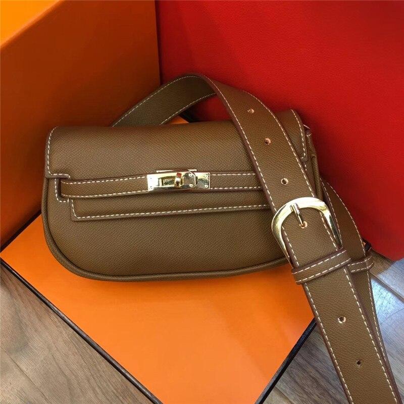 Haute qualité femme sac à bandoulière rétro métal boucle mini diagonale sac croisé multi-fonction pochette mobile portefeuille