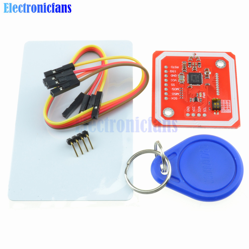 radio module pn532 nfc module v3 - 1Set PN532 NFC RFID Wireless Module V3 User Kits Reader Writer Mode IC S50 Card PCB Attenna I2C IIC SPI HSU For Arduino
