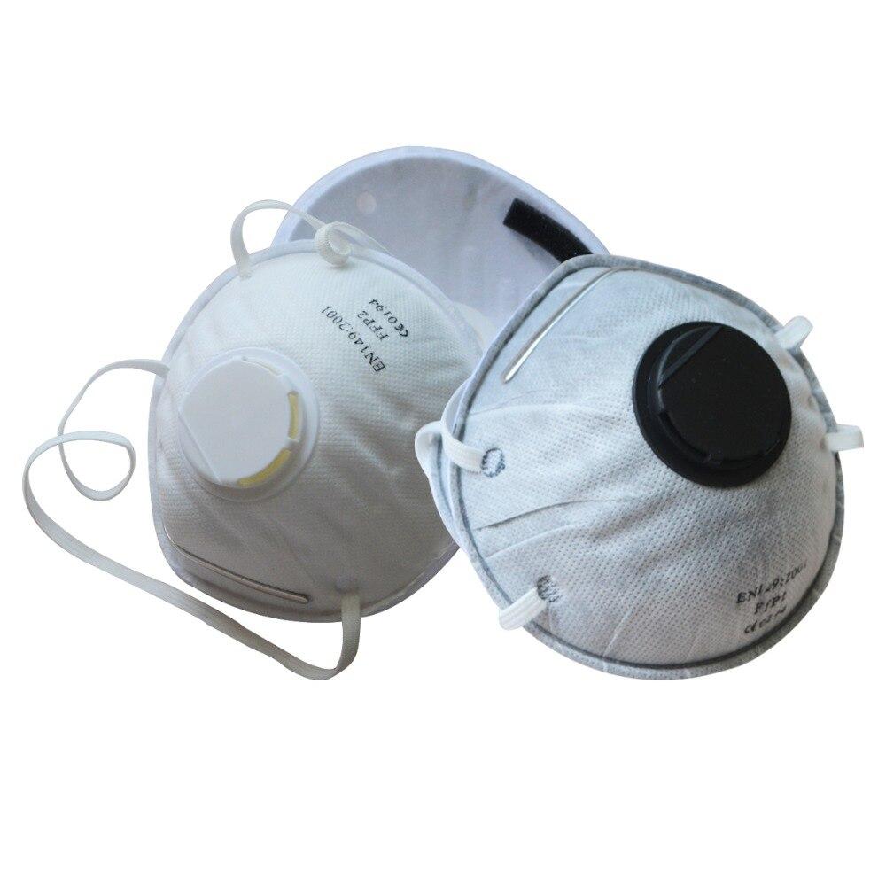 1 шт. Пылезащитная маска респиратор FFP2 уровень Анти туман PM2.5 защитная маска Пылезащитная кухонная Рабочая защитная маска - 2