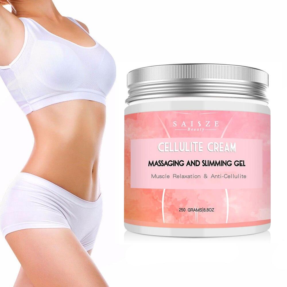 Celulite Creme Quente Apertado Músculos-Alivia Perna Massagem Relaxa Adiposo e Aperta A Pele Peso 250g transporte da gota