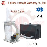 electric cyclone of hammer mill with air lock