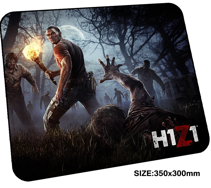 H1Z1 mousepad gamer 350x300x3mm gaming mouse pad Christmas gifts notebook pc accessories laptop padmouse Colourful ergonomic mat ...