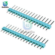 10pcs/Lot 40 Pin 1x40 Single Row Male and Female 2.54 Breakable Pin Header PCB Connector Strip for Arduino цены