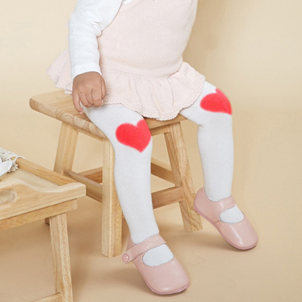 Toddler Baby Kids Girl Cotton Love Tights Cute Girls Pant Hosiery Pantyhose