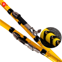 YUYU High Carbon 4.5m 5.4m 6.3m 7.2m Telescopic Fishing Rod Ultra Light Front Fishing Rod Spinning position pole Tackle Sea Rod